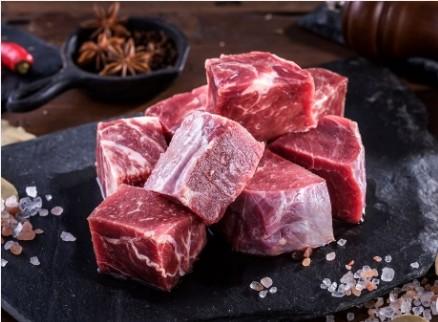 台灣純血黃牛-牛腩肉切塊