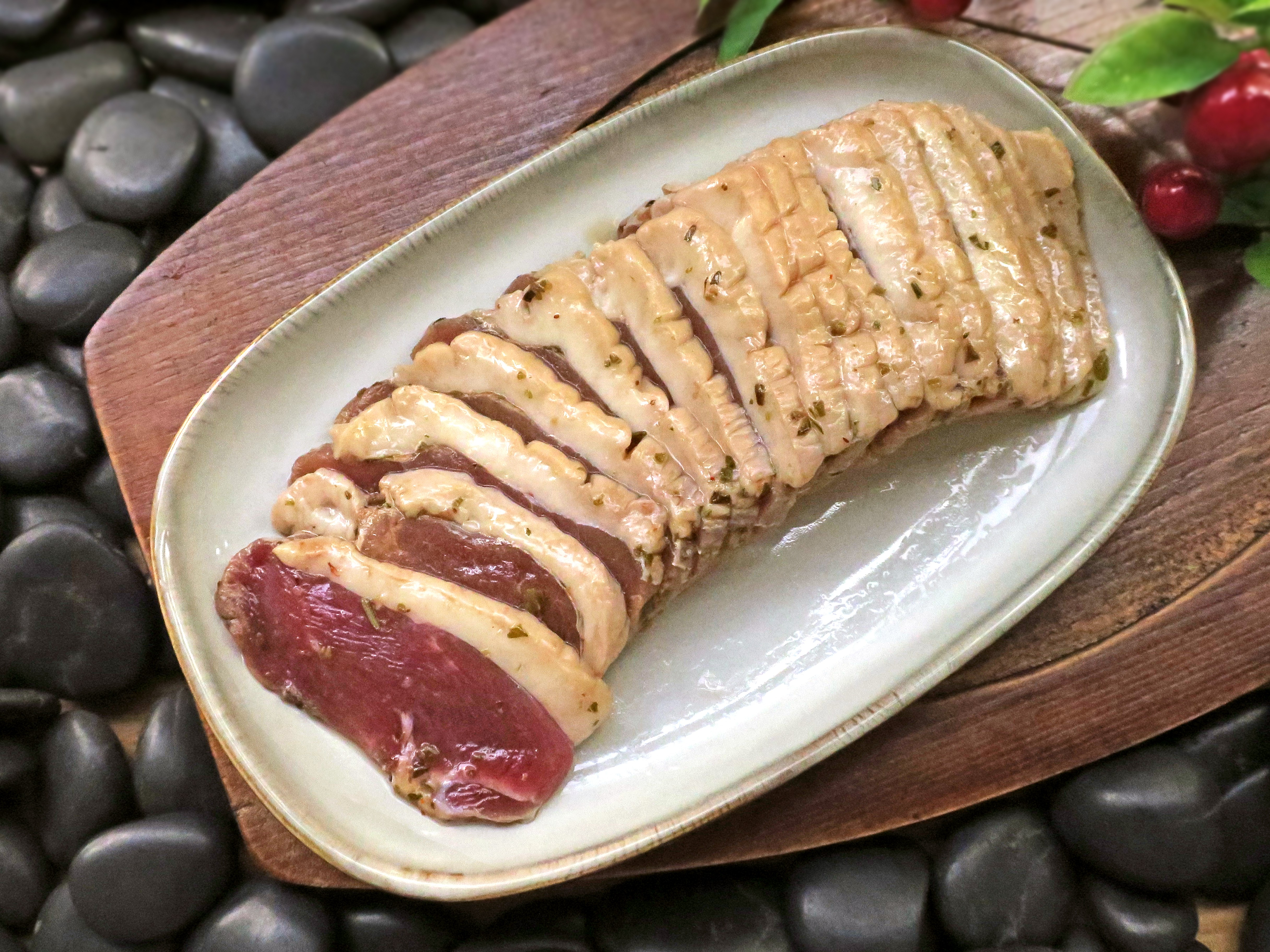 五折-開丼聯名-櫻桃鴨胸厚切片(義式風味)