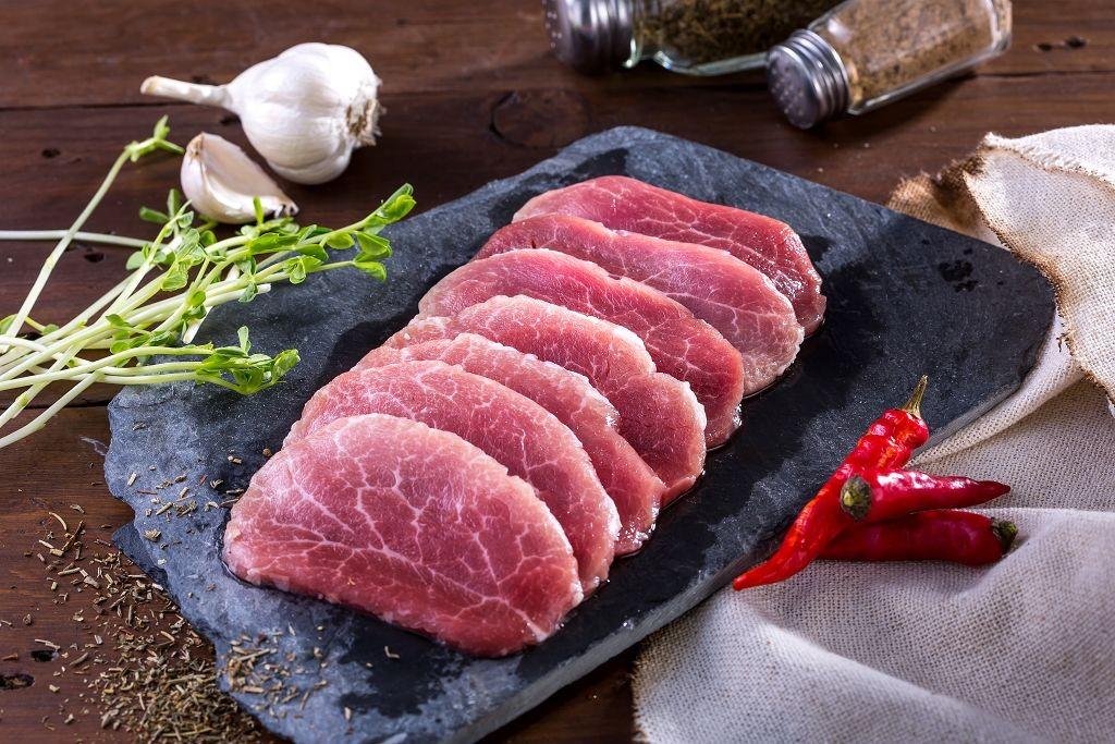 鯤牧黑豬-雪花肉厚片